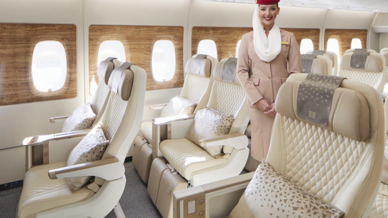 Emirates Unveils Brand-New A380 Premium Economy Seat