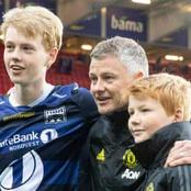 Read What Solskjaer's Son Said After Mourinho Attacked His Father For Hitting Out At Son Heung-min
