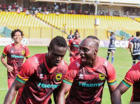Asante Kotoko's Outstanding Performance Against Bechem United Take Them To 3rd Position