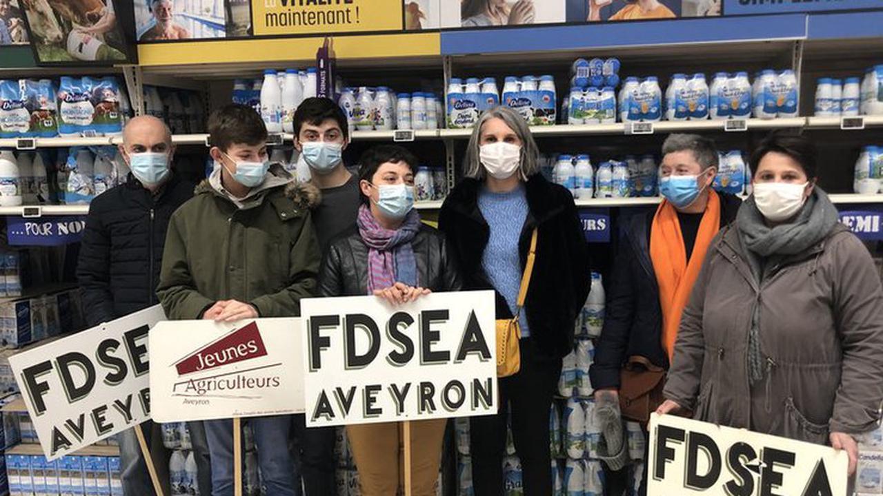 Aveyron : prix du lait, la FDSEA dénonce des enseignes hors-la-loi