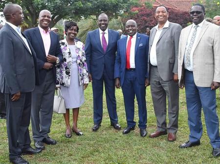 Governor Sang Missing In DP Ruto Meeting With Legislators