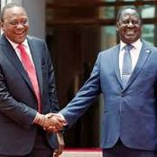 Uhuru's Night Call To Raila That Calmed The Situation That Threatened To Tear The Handshake