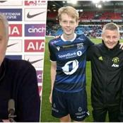 'I Always Eat' - OleGunnar Solskjaer's Son Defends His Dad ; Replies To Mourinho and Son Heung Min