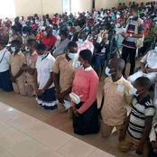 Côte d'Ivoire : Les élèves de Zuénoula et Gohitafla demandent pardon à genoux