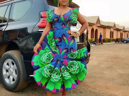 5 Times Actress Mercy Aigbe Turns Head In Short Ankara Gown