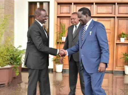 DP William Ruto Praises ODM Party Leader Raila Odinga For Creating A National Party