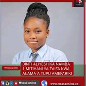 2019 top student who scored clean As has passed on