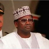 Sani Abacha Didn't Die Of Poisoned Apple, See What Killed Him.