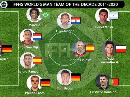 Check out the team of the decade according to IFFHS.