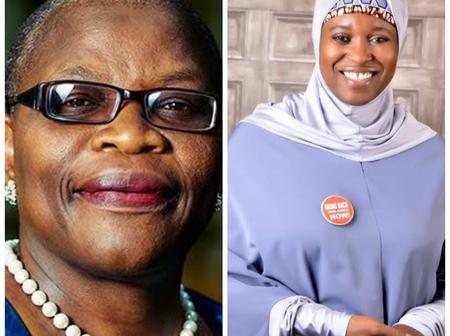 After Aisha Yesuf praised  Ezekwesili for rejecting Buhari's and Goodluck's Appointment, See what she told her