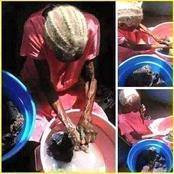 Du haut de ses 103 ans, cette vielle dame continue de laver ses habits