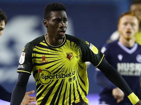 Man United willing to go for Watford star player Sarr over Borussia Dortmund forward Sancho