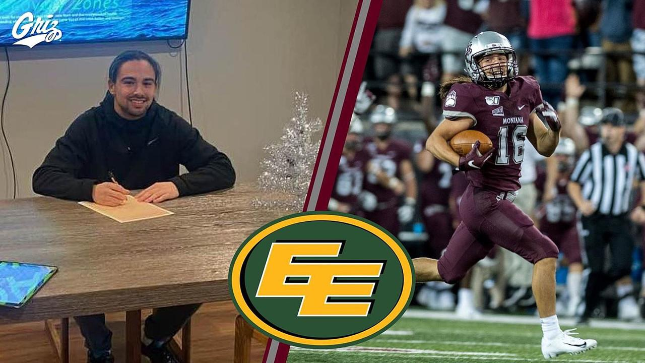 Former Montana Griz Signs Canadian Football League Contract