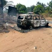 Gunmen attack Police Checkpoint in Anambra, Set Patrol Vans ablaze