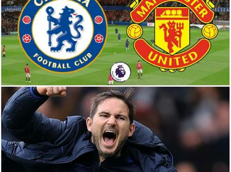 OPINION: If Lampard Uses This Deadly Formation Against Man United On Saturday, They'll Win The Game