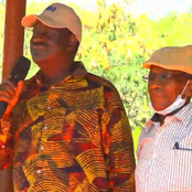 Raila Reunites With Prison Warder He Used To Give Letters To Take To Ida While At Shimo La Tewa