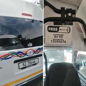 See a taxi that has free wifi that got many people talking!