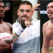 Heavyweight Champ: Andy Ruiz Jr. supporting Tyson Fury in the defeat of Anthony Joshua this summer