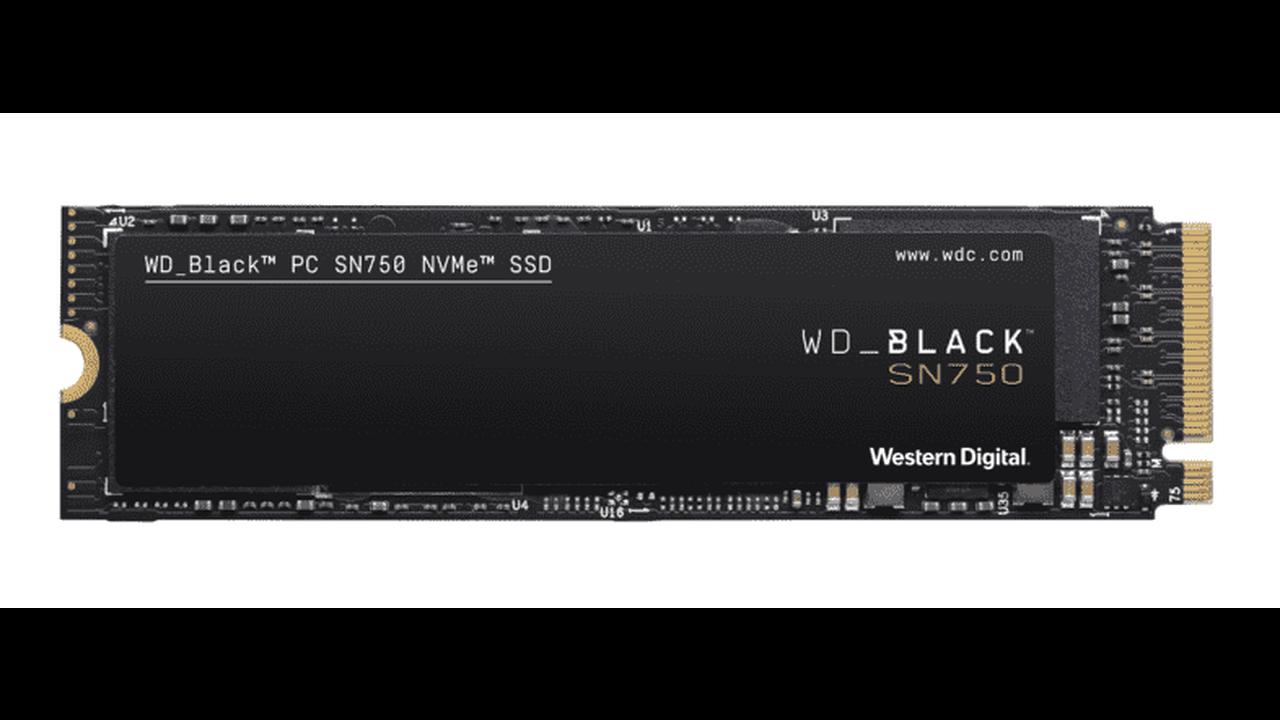 Schnelle SSD WD_Black SN750 mit 1 TB zum Tiefstpreis bei Amazon