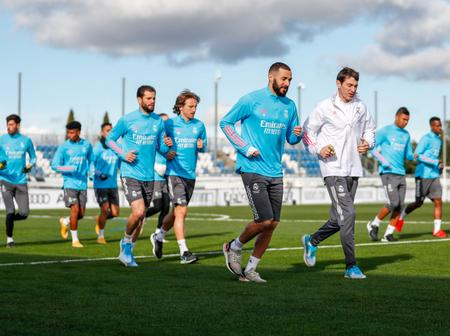 HUGE BLOW: Real Madrid could be without EIGHT of their first team Players for their match on Tuesday