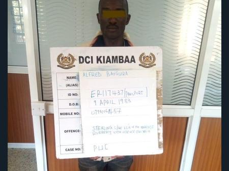 The Badoo Connman has Been Arrested By The DCI Detectives. See What He Looks Like