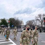 Tension In USA As The Military Floods The Streets of Washington DC