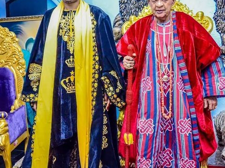 Between Oluwo's and Alaafin's Outfit, Which Is Your Favourite Attires