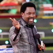 Prophet TB Joshua Allegedly prayed for Covid-19 patients and miracle happened