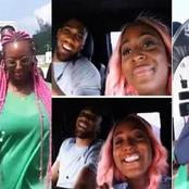 See What DJ Cuppy Has Recent Revealed on Twitter that Shows She's Crushing on Anthony Joshua.