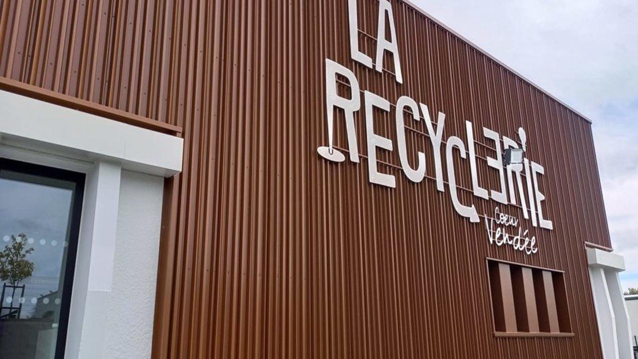 La Roche-sur-Yon : la Recyclerie cœur Vendée a ouvert ses portes