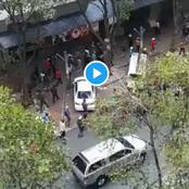 Watch: War Brewing As Locals Hunt Down Foreigners In Hillbrow