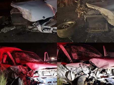 Three Left Injured After A Head On Crash, People Were Shook By What The BMW Driver Did Afterwards