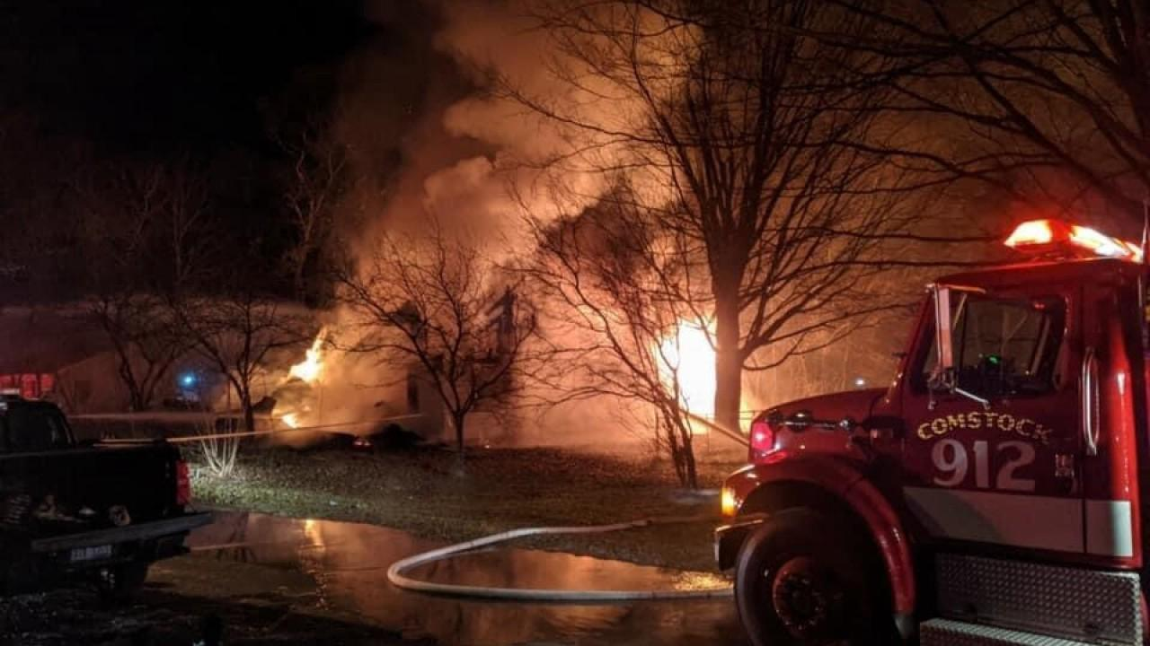 Kalamazoo County investigating 2 suspicious fires at same unoccupied house