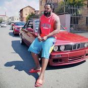 Big Zulu and his BMW 325, GUSHESHE