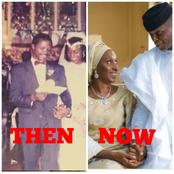Vice-President Yemi Osibanjo Turns 64 Today, See Photo Of His Mother, Wife And His Three Children