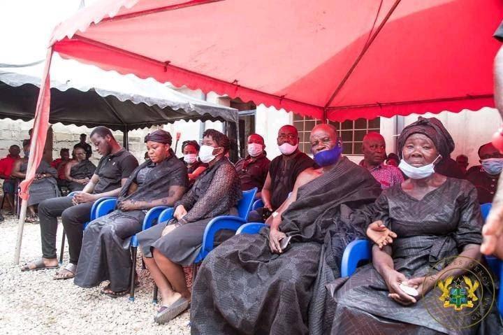4a86bea60e5d7f18e358e67866977c39?quality=uhq&resize=720 - President Akufo-Addo visits The Mfantseman MP's family home to mourn (Photos)