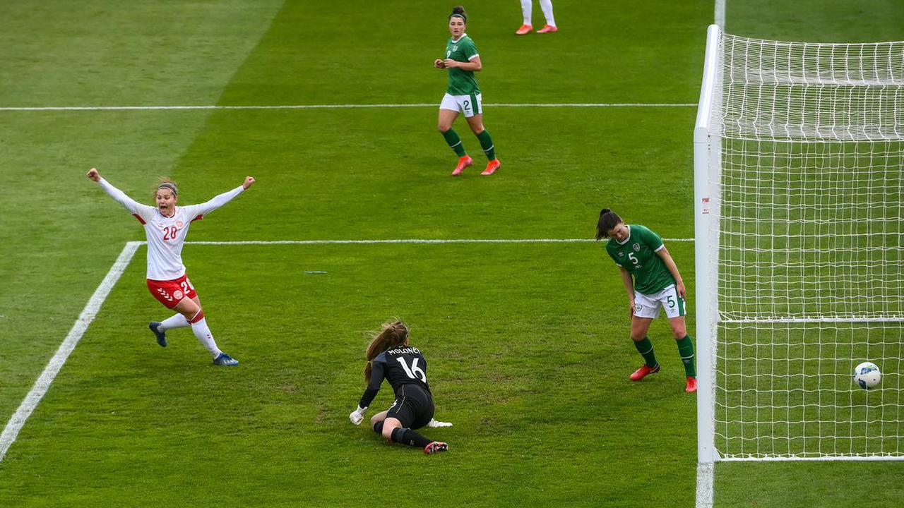 Positives for Vera Pauw as Ireland put up spirited showing in Danish defeat