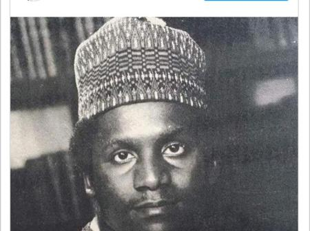 Rare picture of Dangote shared by Femi Otedola, to celebrate his birthday