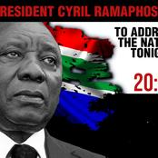President to address the nation 8pm today: More lockdowns?