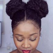 Ladies, youthful hairstyles ranging from 100 Kshs to 1000 Kshs.
