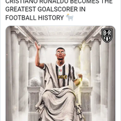 Ronaldo officially becomes the greatest goal scorer in football