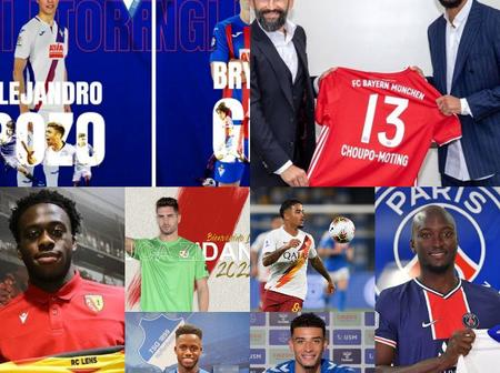 Deadline Day: All Done Deals Across England, Italy, Spain and The Rest Of Europe
