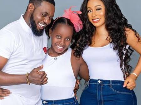 Adorable Photos of Nigerian Comedian, Ayo Makun and his family