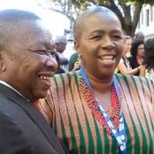 Get to Meet the woman behind Blade Nzimande's smiles, See this?