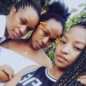 Check Out Sindi Dlathu And Her Sisters :They Look Alike
