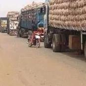 Kwara State Border That Leads To Niger State Is Now Open.