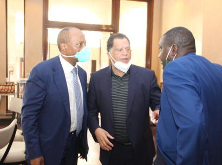 Caf President Motsepe appoints Danny Jordan as his Sports advisor