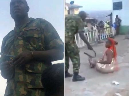The Soldiers Who Dehumanised And Violated The Right Of Passers-by In Oyo State Have Been Arrested
