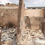 #Endsars : Man laments as three of his shops were burnt down by hoodlums.