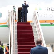 Alassane Ouattara a quitté Abidjan, ce jeudi 8 Avril, pour deux destinations majeures